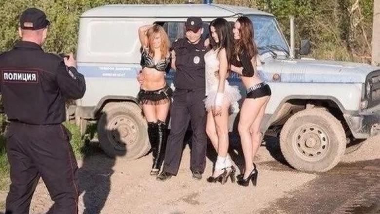 проститутку полиция