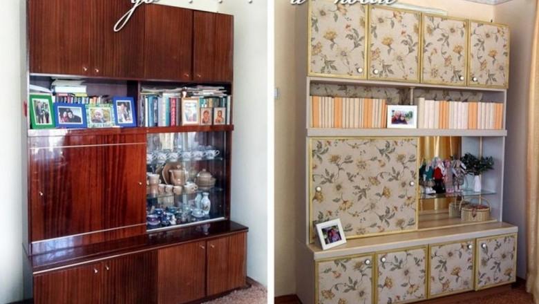 как обновить старую мебельную стенку с фото шепс появился эфире